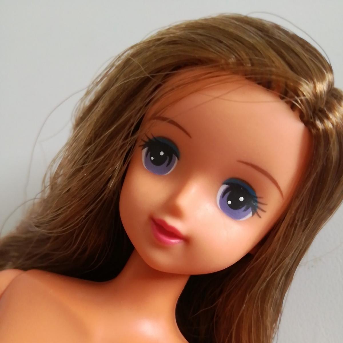 人形本体 ジュリアナ ジェニーフレンド 鎖骨あり 日焼けボディ 1/6ドール フィギュア タカラ TAKARA ゆる巻き ロングヘア
