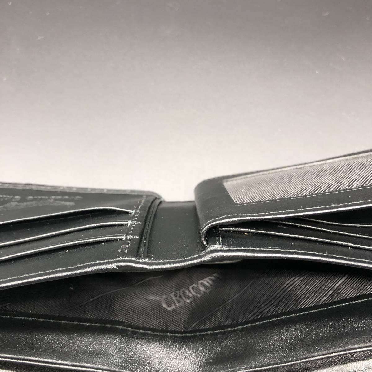 ■新品■ ◆ハンドメイド◆ 二つ折り財布 クロコダイル(背部分使用 )★海外工房店制作★ Ⅱ_画像10