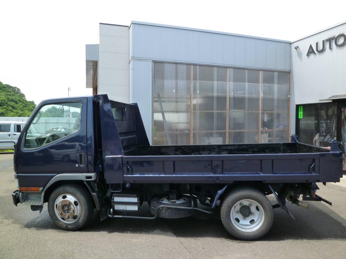 車検付き 4WD キャンター ダンプ ディーゼル NOx適合 マニュアル5速 積載量2000Kg 走行13万キロ 即納可