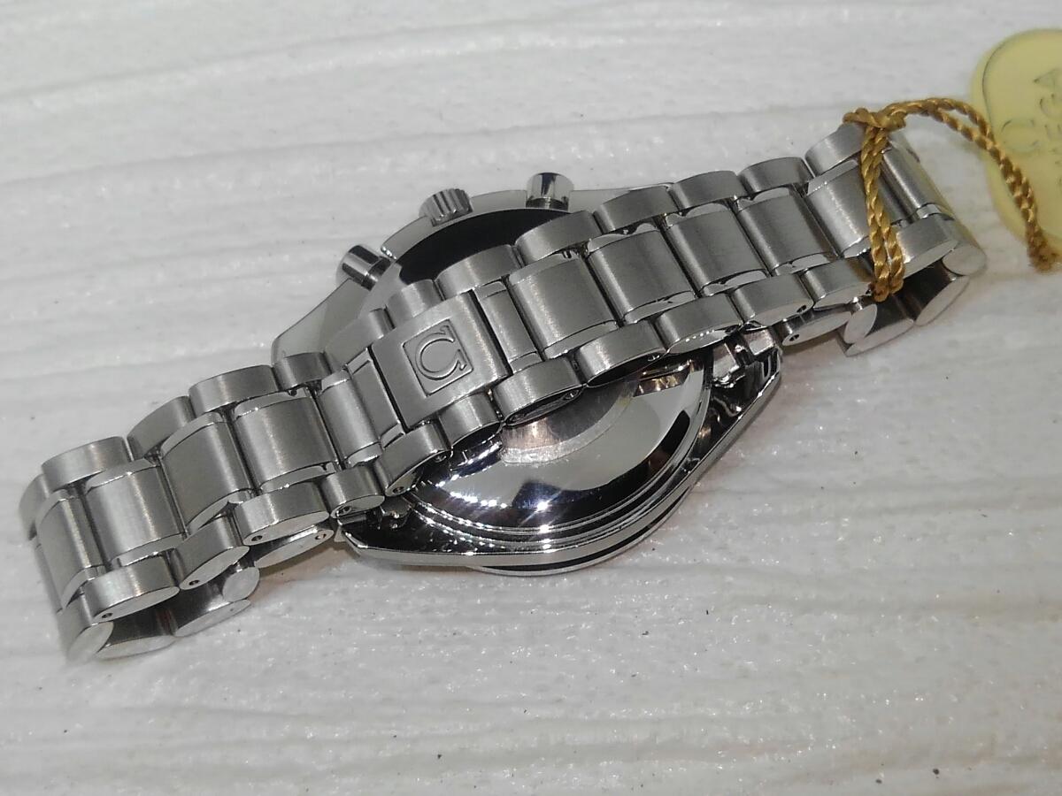 【鑑定済】デッドストック品 OMEGA オメガ スピードマスター マーク40 自動巻き メンズ 稼働品 _画像4