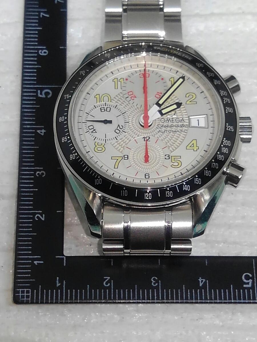 【鑑定済】デッドストック品 OMEGA オメガ スピードマスター マーク40 自動巻き メンズ 稼働品 _画像7
