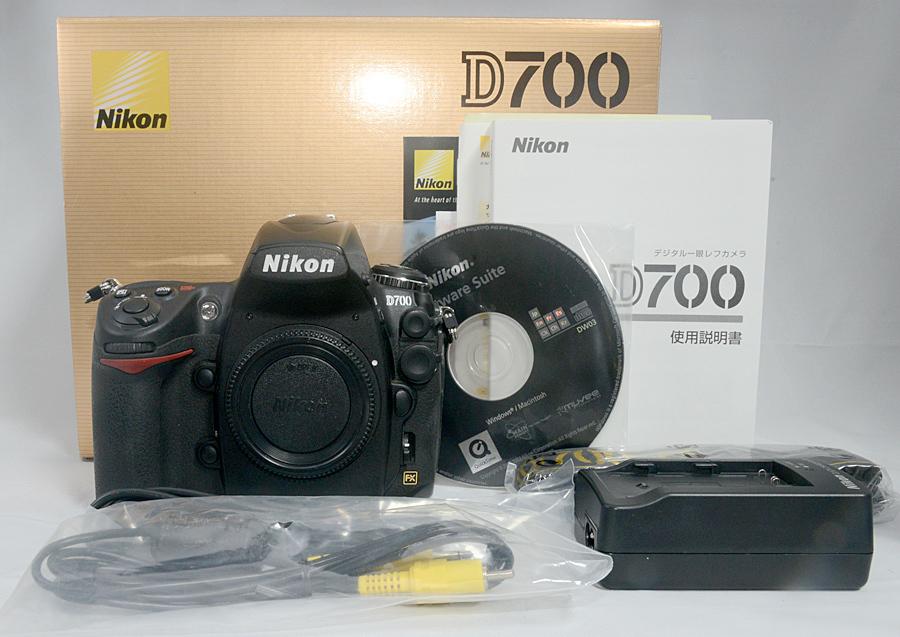 【ニコン Nikon D700ボディ】 ショット数少なめ4千台 中古美品 元箱付 FXデジタル一眼レフ_画像2