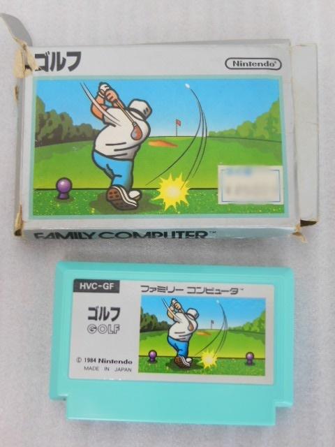 ファミコン用 カセット ソフト ゴルフ GOLF 箱付き FC