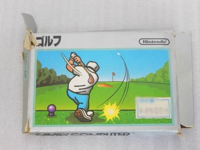ファミコン用 カセット ソフト ゴルフ GOLF 箱付き FC_画像5