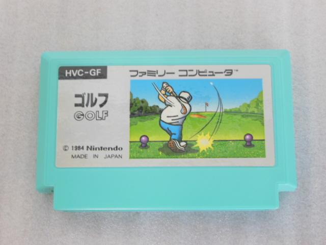 ファミコン用 カセット ソフト ゴルフ GOLF 箱付き FC_画像2