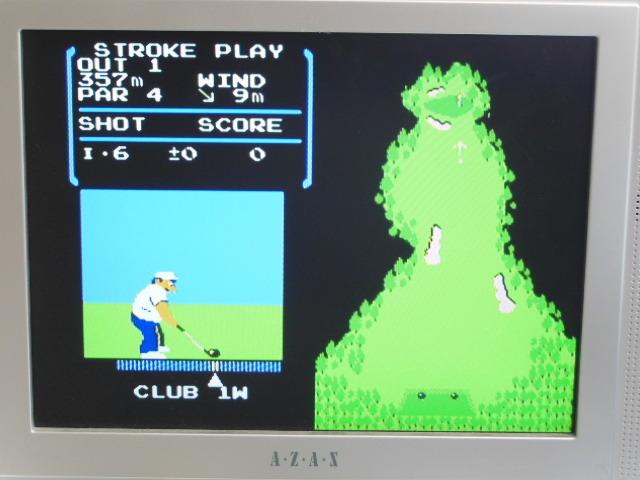 ファミコン用 カセット ソフト ゴルフ GOLF 箱付き FC_画像7