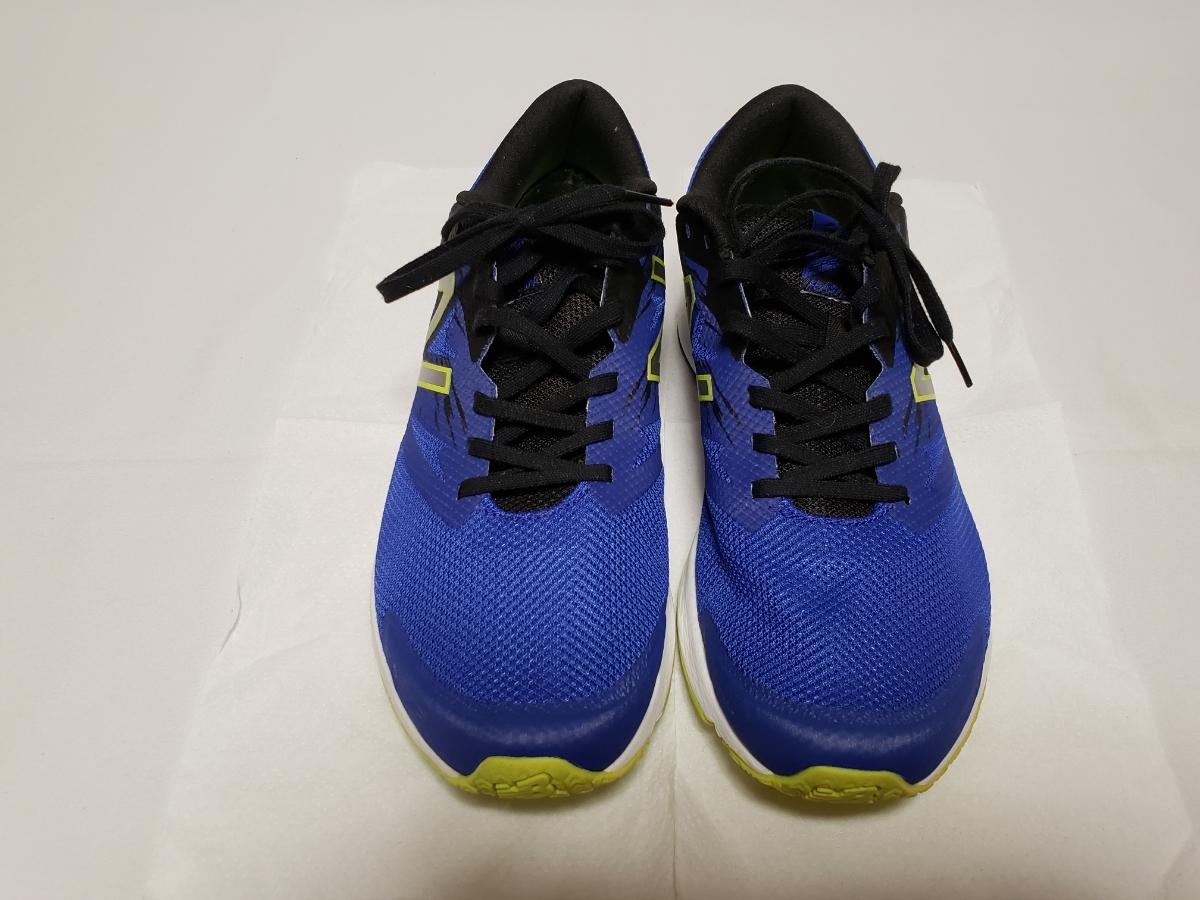 ☆靴本体 未使用品☆new balance/ニューバランス メンズスニーカー 26、5cm 青/ブルー ※中敷き1枚おまけ付き♪_画像3