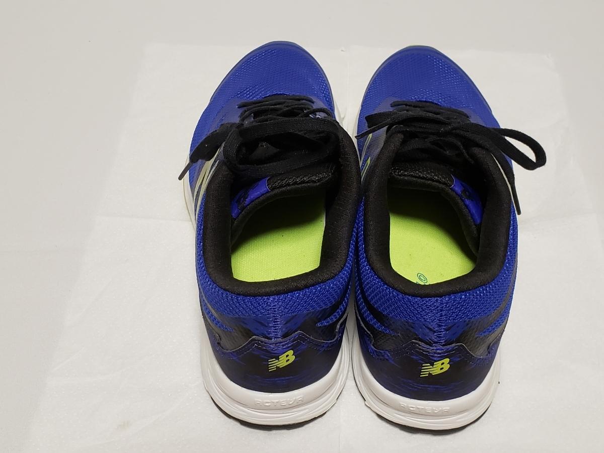 ☆靴本体 未使用品☆new balance/ニューバランス メンズスニーカー 26、5cm 青/ブルー ※中敷き1枚おまけ付き♪_画像4