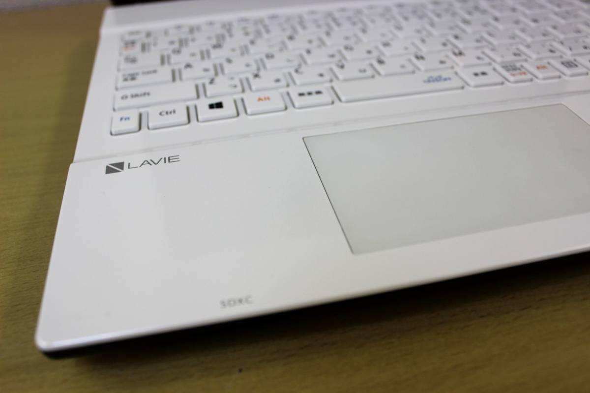 ★2017年製 第7世代CPU★ 爆速仕様 大容量新品SSD512GB搭載 Core i5 7200U NEC ◇メモリ8G office Webカメラ ホワイト Bluetooth Win10_画像5
