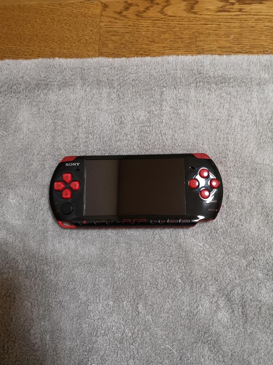 PSP-3000 バリューパック ブラック/レッド PSPJ-30017