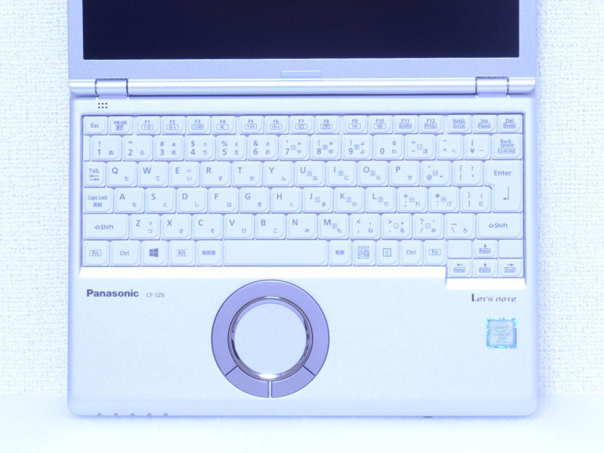 現行品 350,892円~ Panasonic Let's note【CF-SZ6SFUVS SIMフリー LTE対応 Core i7 / 7600U / メモリ16GB / SSD512GB カメラ / 約955g】_画像6