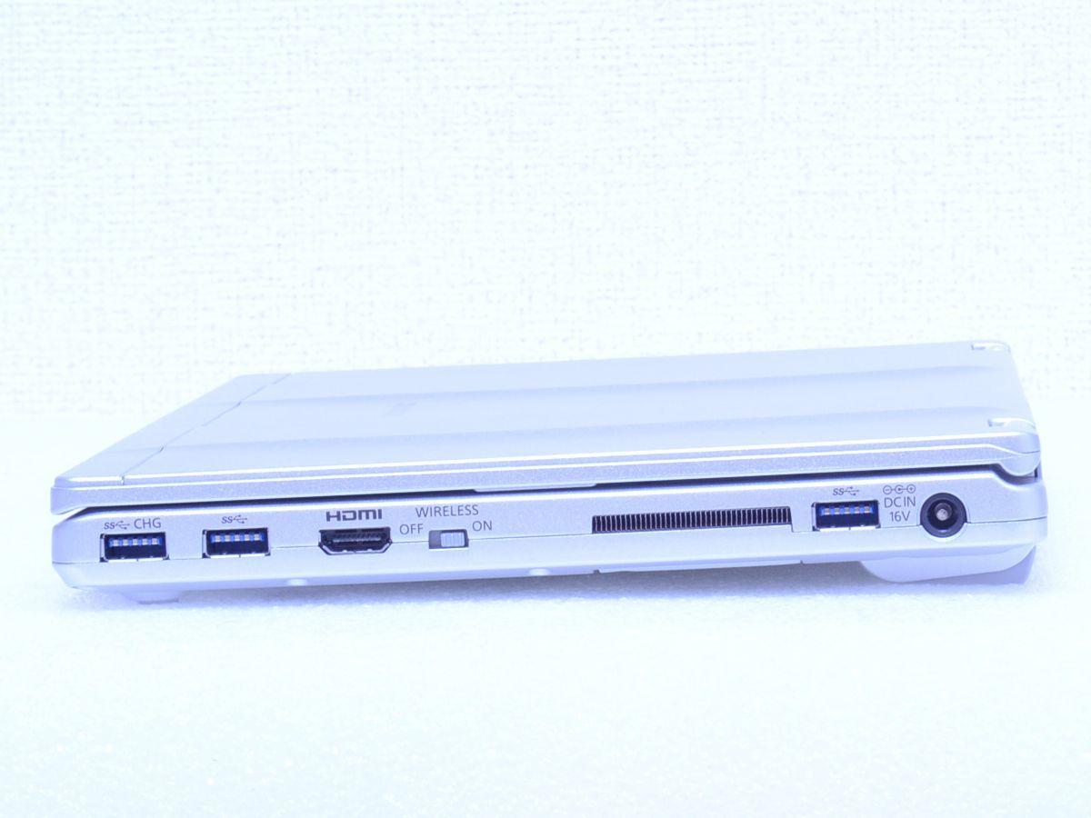 現行品 350,892円~ Panasonic Let's note【CF-SZ6SFUVS SIMフリー LTE対応 Core i7 / 7600U / メモリ16GB / SSD512GB カメラ / 約955g】_画像7