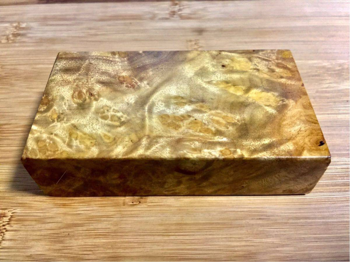 黄金樟 棒材/ミャンマーの三大国宝 銘木 希少材 端材 木材 瘤 杢 銘木 (V675)_画像4