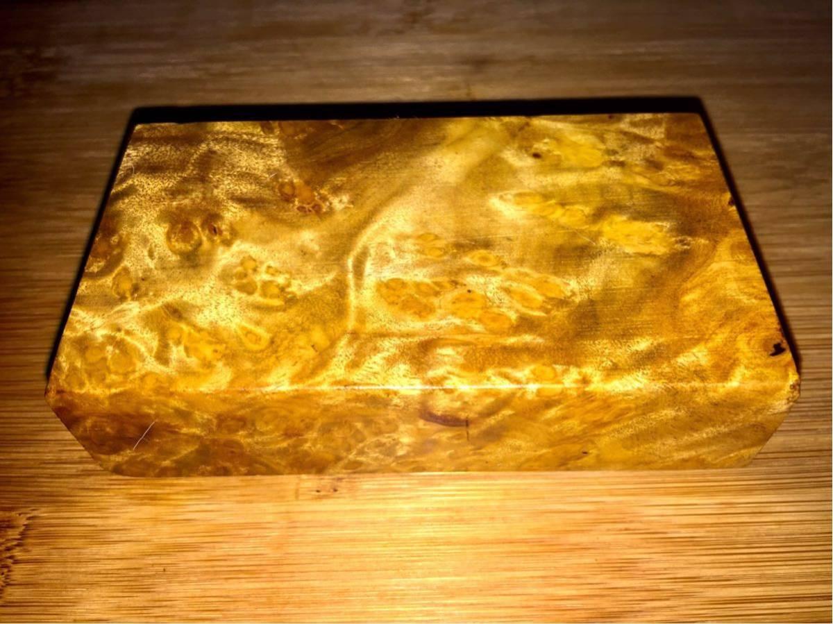 黄金樟 棒材/ミャンマーの三大国宝 銘木 希少材 端材 木材 瘤 杢 銘木 (V675)_画像3