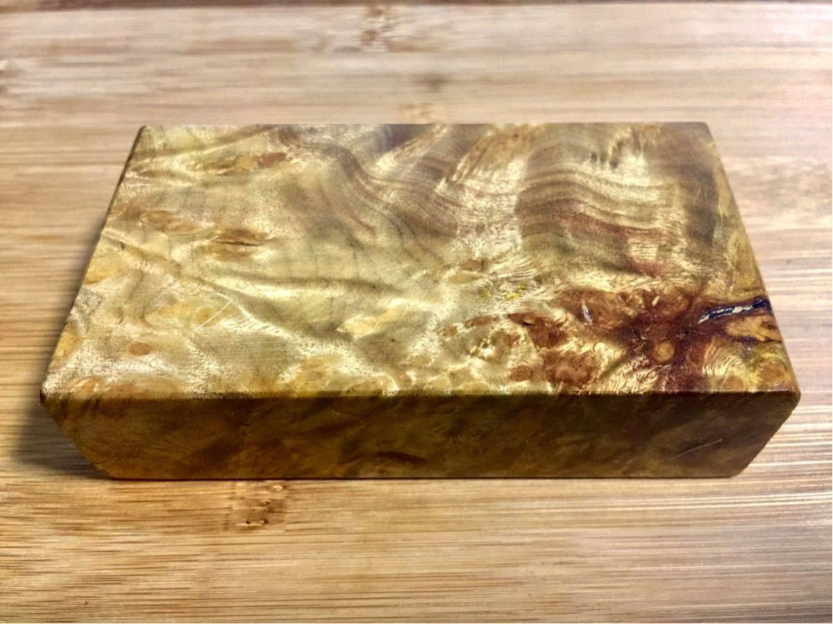 黄金樟 棒材/ミャンマーの三大国宝 銘木 希少材 端材 木材 瘤 杢 銘木 (V675)_画像2