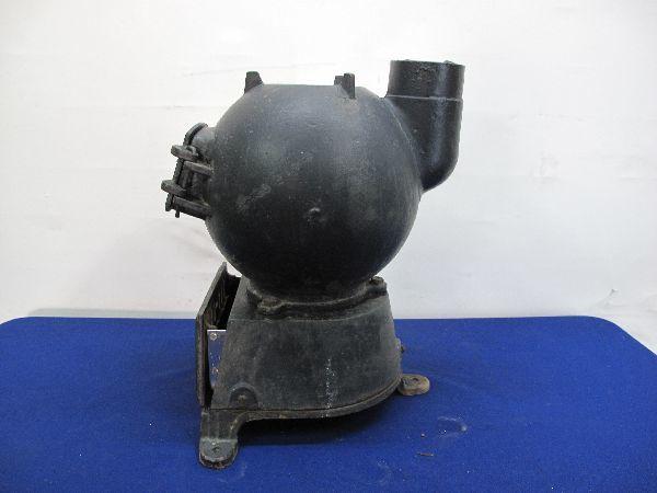 昭和レトロ 国鉄 ダルマストーブ (887) タコストーブ 鉄 鋳物 ジャンク_画像4