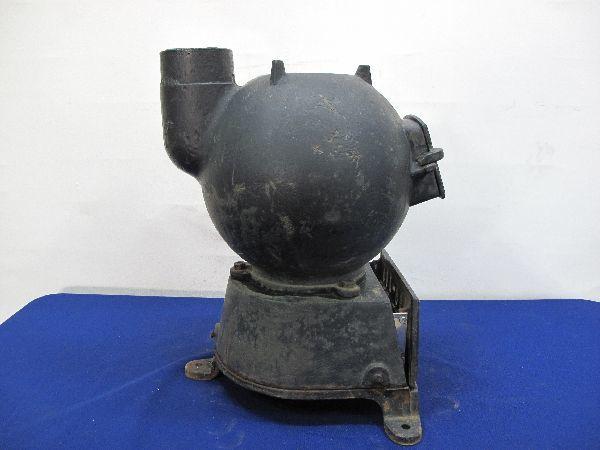 昭和レトロ 国鉄 ダルマストーブ (887) タコストーブ 鉄 鋳物 ジャンク_画像7