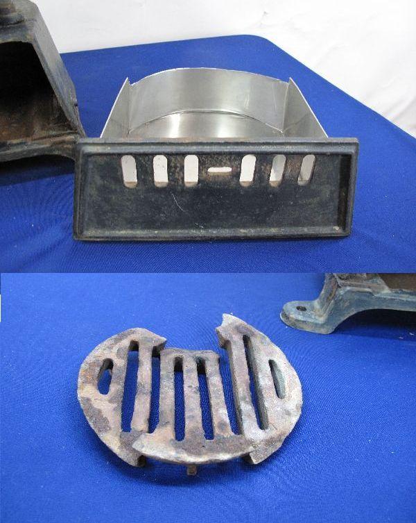 昭和レトロ 国鉄 ダルマストーブ (887) タコストーブ 鉄 鋳物 ジャンク_画像8