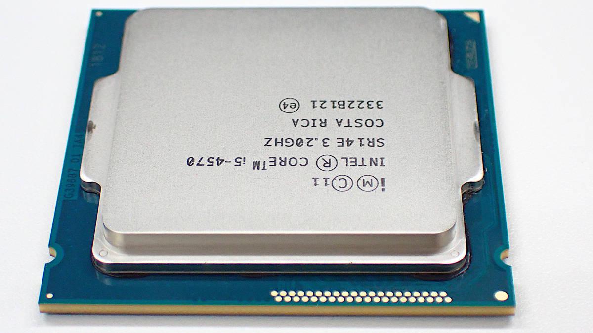 Core i5-4570 3.2GHz SR14E 動作確認済 インテル_画像4