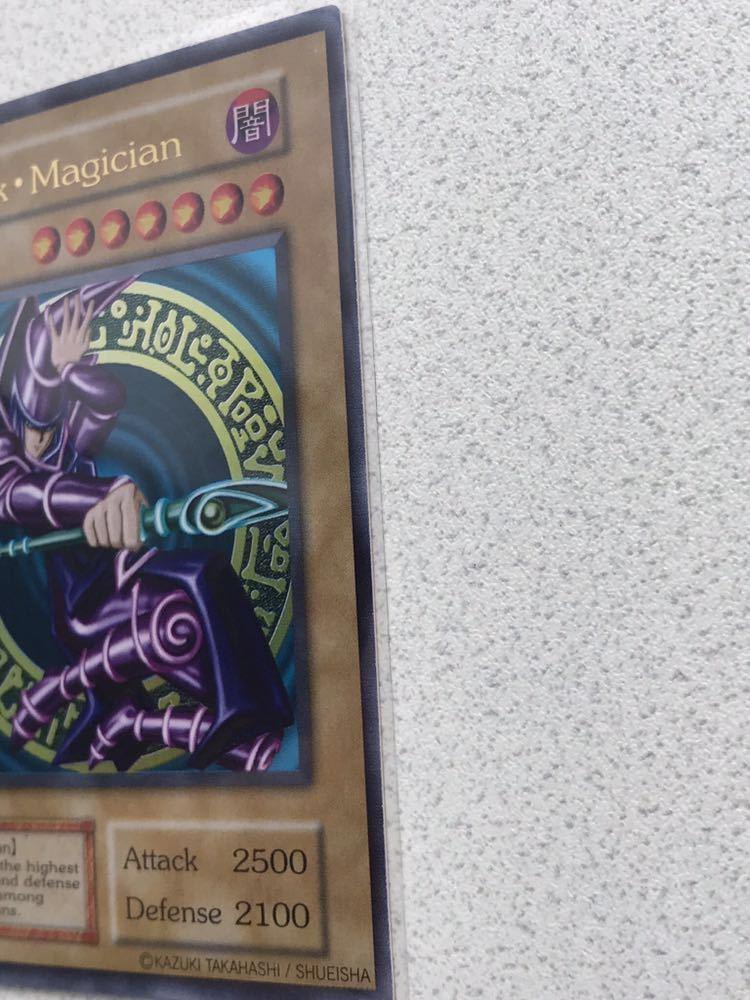 【超希少】遊戯王 Black Magician(ブラック・マジシャン ) 美品_画像7