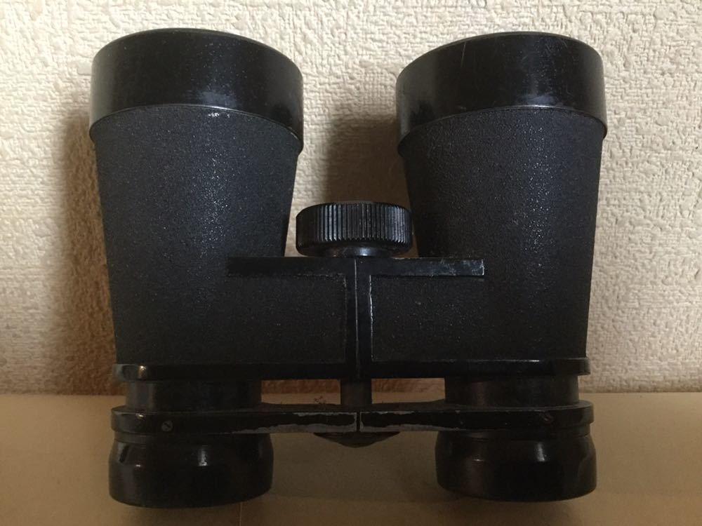 旧日本軍の配給品の双眼鏡?ケースに昭17△?マークあります。検軍服日本陸軍カメラレンズ軍刀_画像9