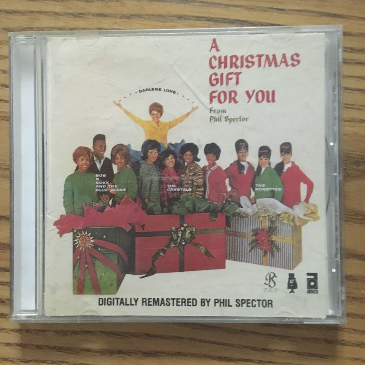 【499スタ売り切り!ノークレ厳守】A CHRISTMAS GIFT FOR YOU FROM PHIL SPECTOR[RONETTES,DARLENE LOVE,CRYSTALS]★シリアポール 大瀧詠一