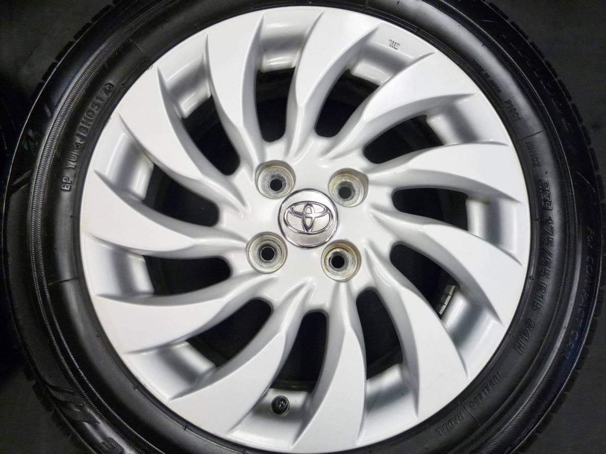 アクア、ヴィッツ、ポルテなどに♪ トヨタ bB純正 175 65 15インチ タイヤ付き 売り切り♪_画像5