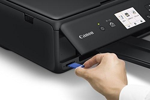Canon キヤノン A4 プリンター インクジェット複合機 PIXUS TS5030S ブラック 黒 新品 領収書可 即決_画像4