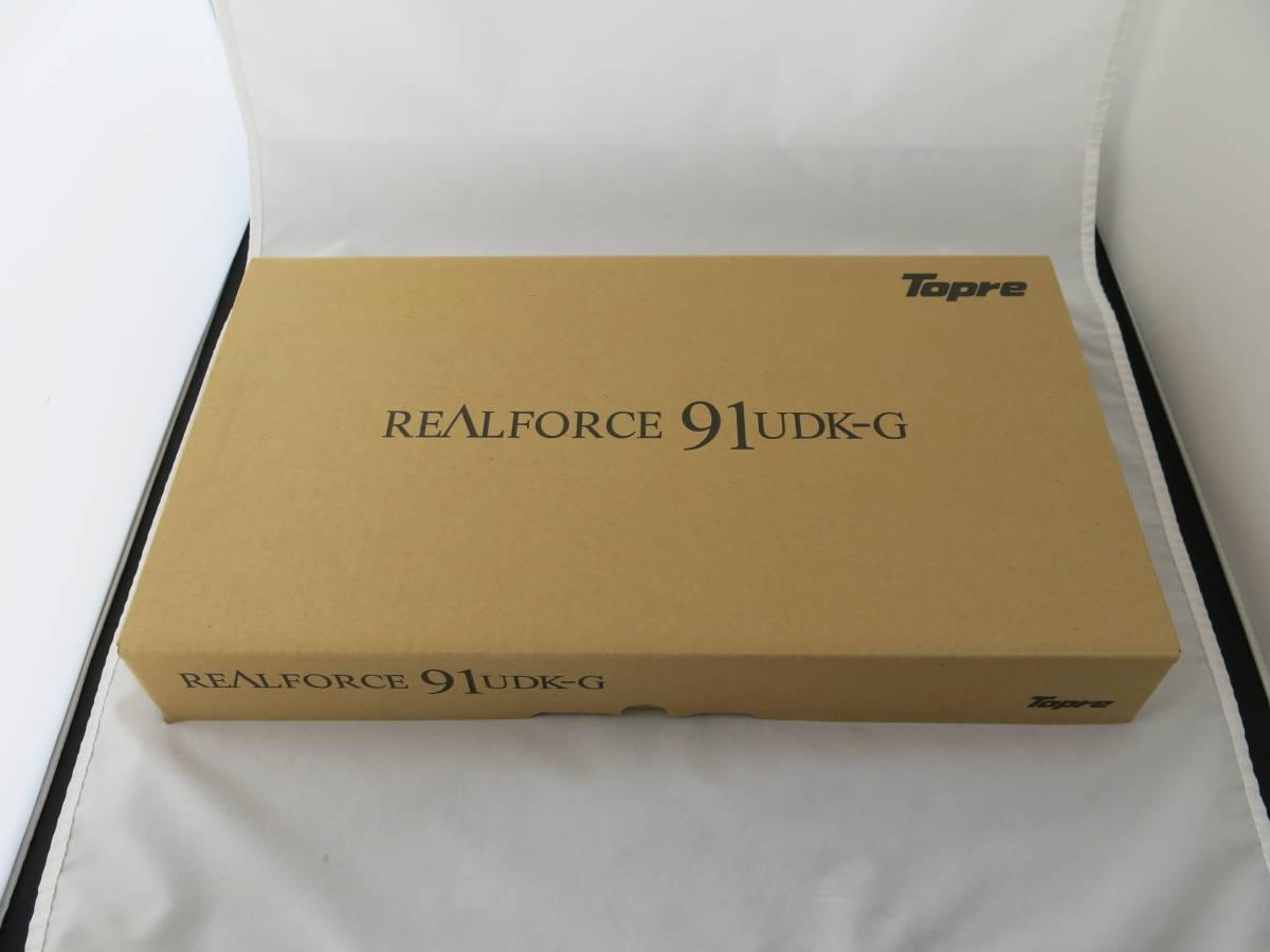 東プレ キーボード Realforce91UDK-G USB 静電容量無接点方式 DIPスイッチ機能付 ALL45g荷重 別色ASDWキー付属 ブラック NG02B0_画像2