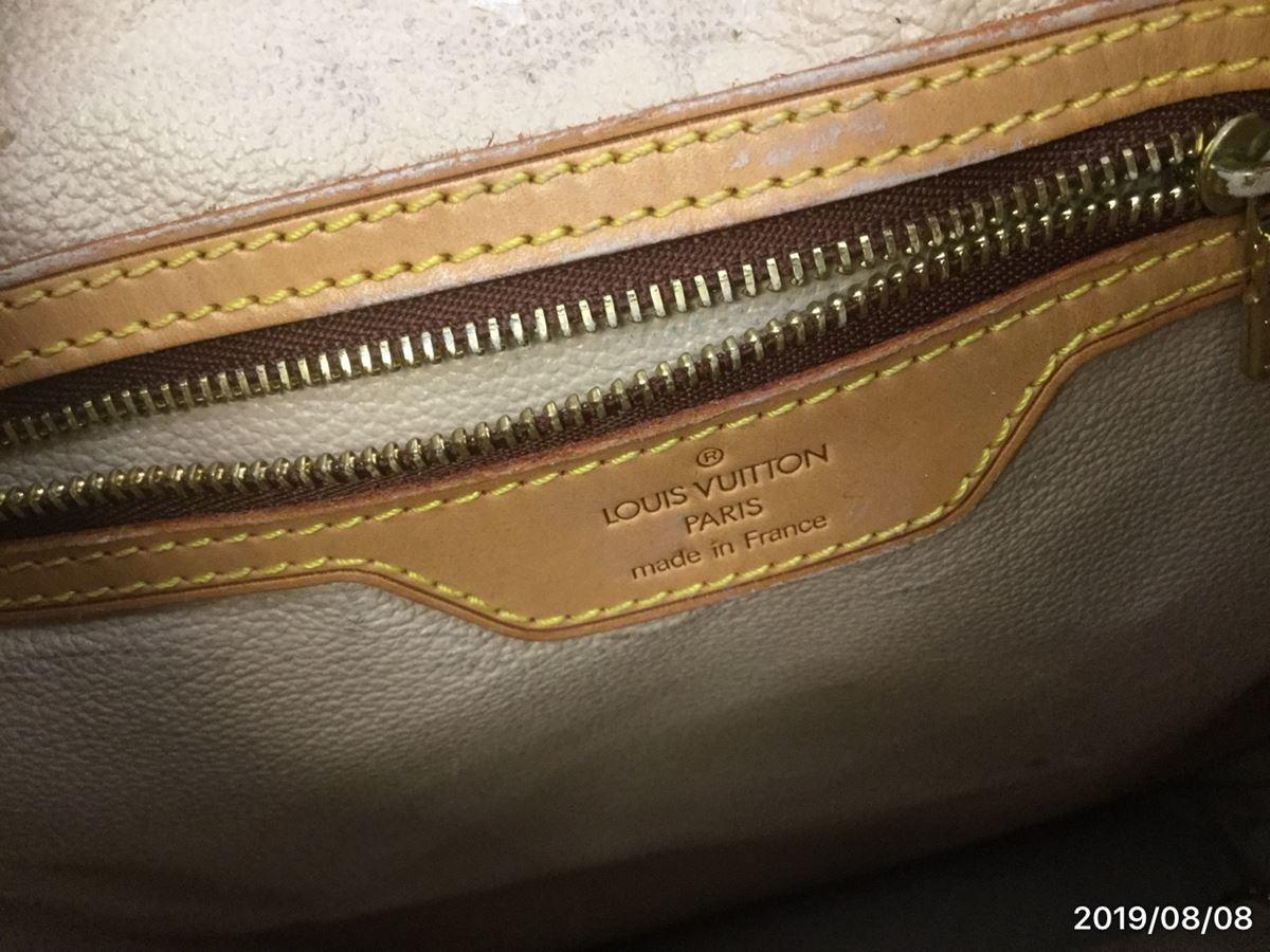 Louis Vuitton モノグラム バケット・中古_画像8