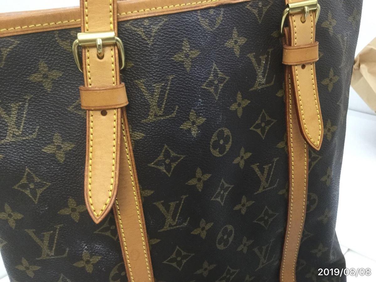 Louis Vuitton モノグラム バケット・中古_画像10