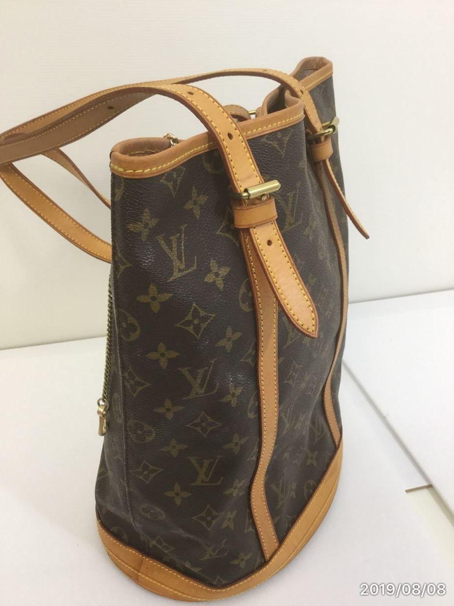 Louis Vuitton モノグラム バケット・中古_画像3