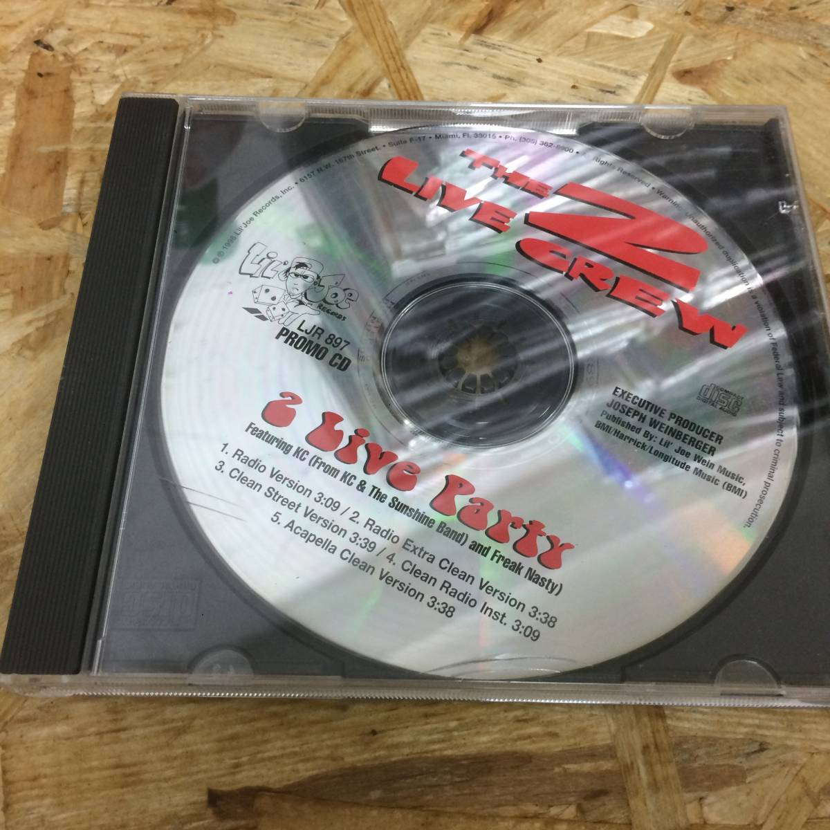 Hiphop / The 2 Live Crew / 2 Live Party CD 中古品