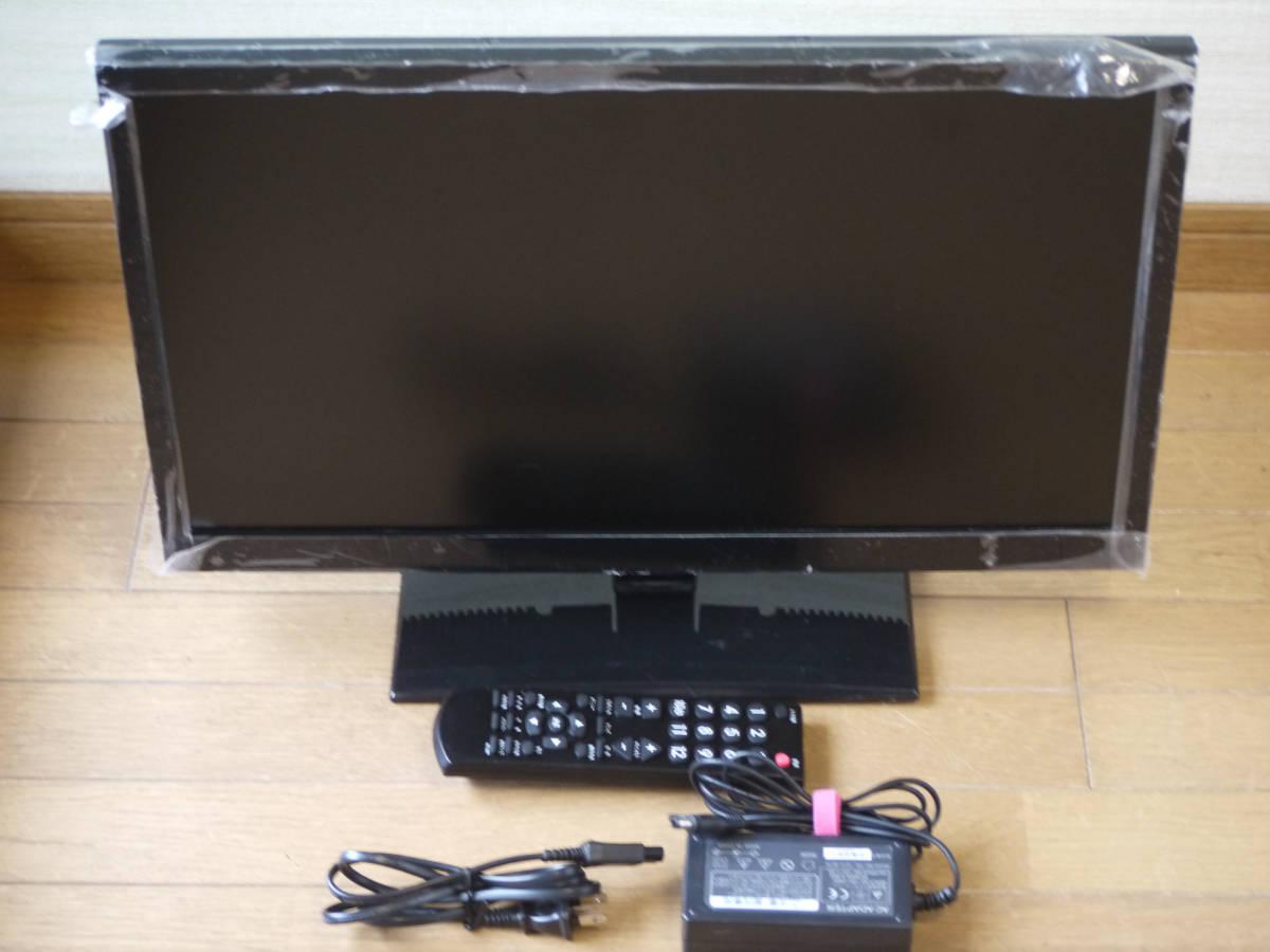 中古◆2014年式ミスターマックス 22V型液晶テレビ LE-M22D250B 純正リモコン・B-CAS青付き _画像3