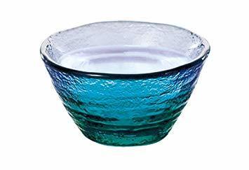東洋佐々木ガラス ぐい呑 珊瑚の海 酒杯 日本製 40ml WA54CB/EG_画像2