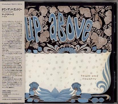 【TOWN AND COUNTRY/UP ABOVE】 国内ボーナストラック2曲収録/THRILL JOCKEY/CD・帯付/検索tortoise_画像1