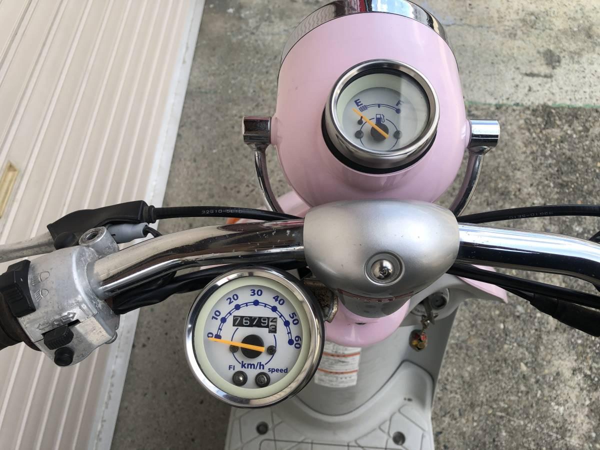SUZUKI レッツ4 パレット FI 可愛い☆ 初心者でも安心! 4サイクル 燃費良いです 門真市から_画像5