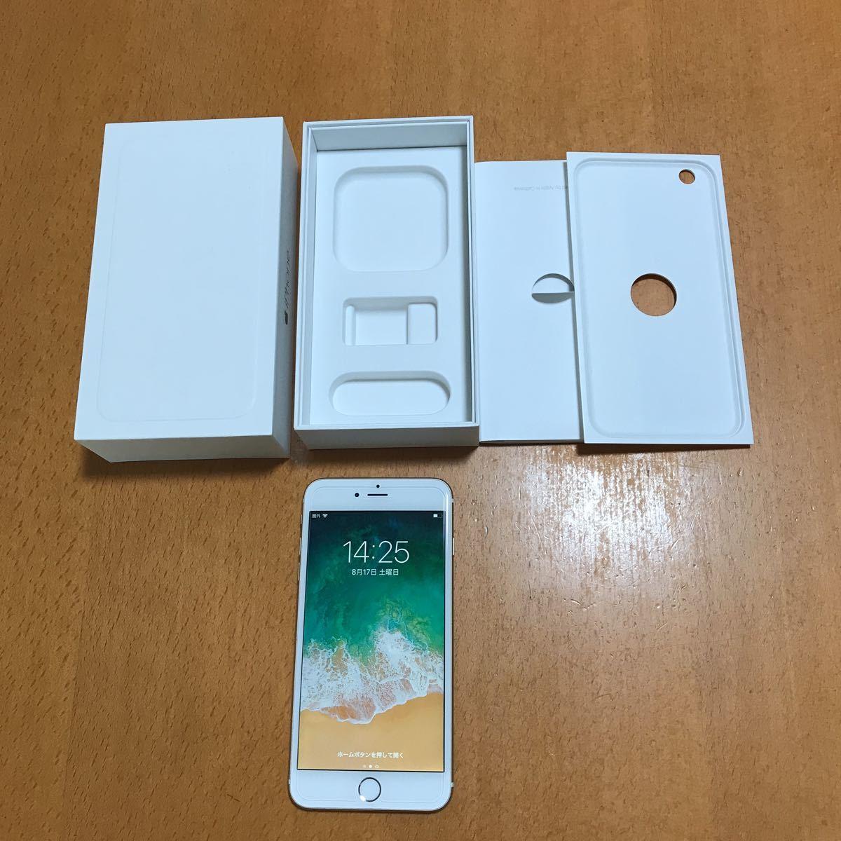 1円から★iPhone6 Plus 64GB ゴールド gold バッテリー100%★送料込み