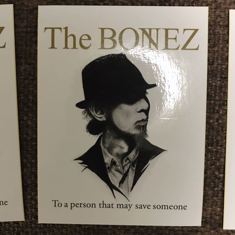 【限定】THE BONEZ RIZE ステッカーセット JESSE PAY MONEY TO MY PAIN dragon ash _画像4
