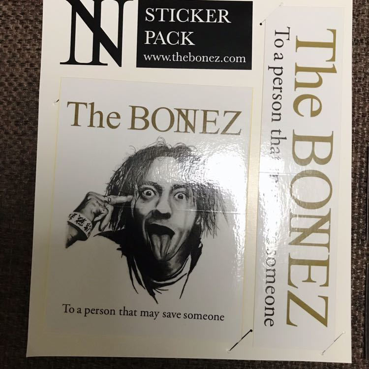 【限定】THE BONEZ RIZE ステッカーセット JESSE PAY MONEY TO MY PAIN dragon ash _画像2