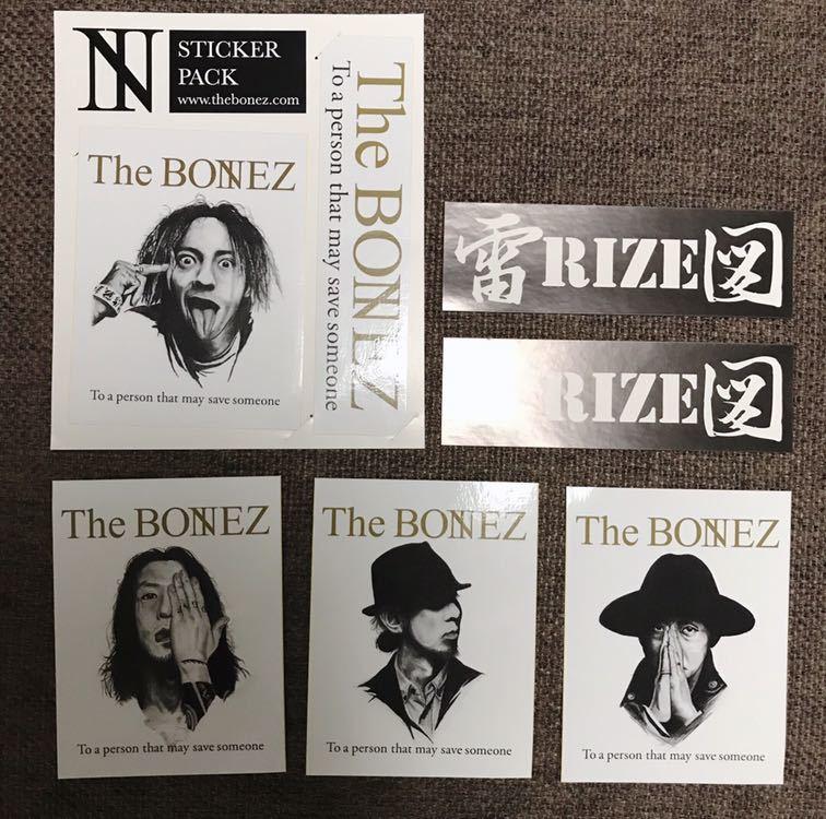 【限定】THE BONEZ RIZE ステッカーセット JESSE PAY MONEY TO MY PAIN dragon ash