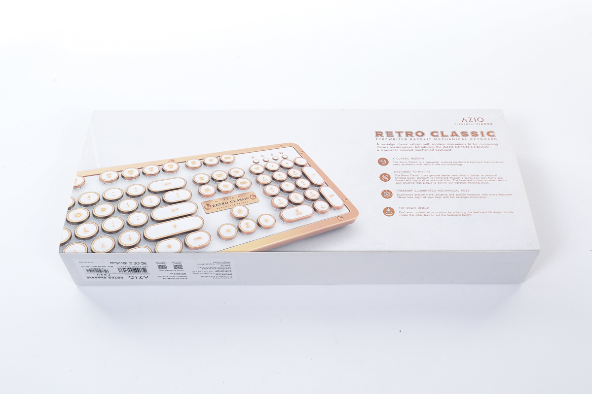 Azio Retro Classics ELEGANTLY FIERCE モデル タイプライター調_画像4