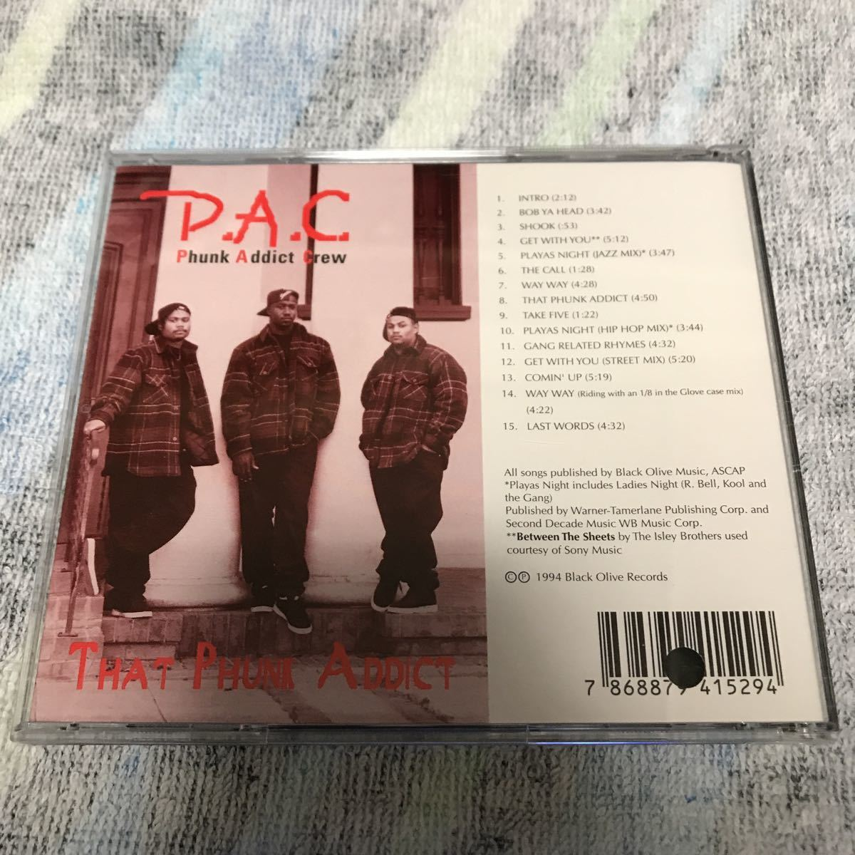 (G RAP) P.A.C. レア盤格安スタ rare_画像2