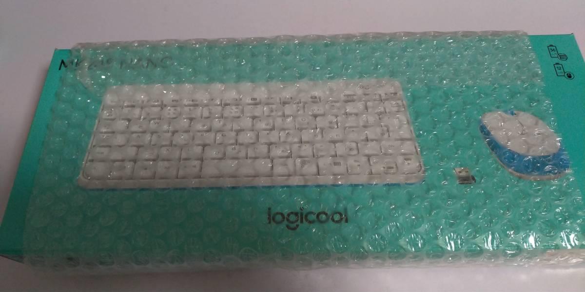 【未開封・未使用】 logicool 無線キーボード&マウス MK245 NANO