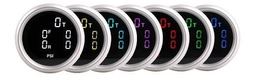 エアサス デジタルエアーゲージ 5ポジション圧力表示 新品_画像2