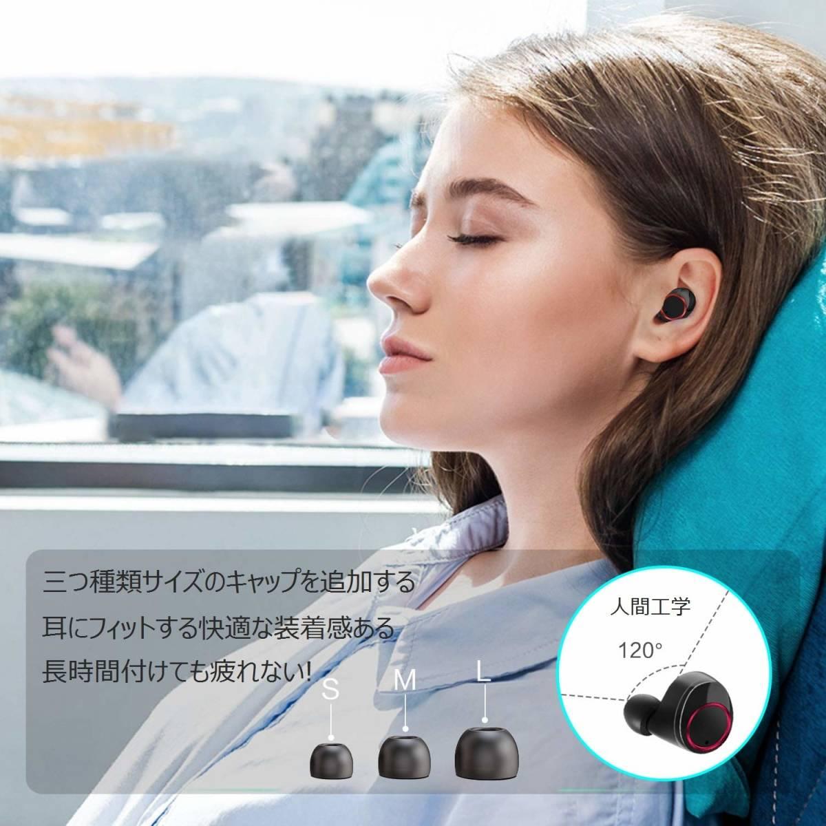 * new goods * unused * wireless earphone Bluetooth earphone height sound quality complete wireless earphone waterproof IPX7 deep bass automatic pairing both ear left right