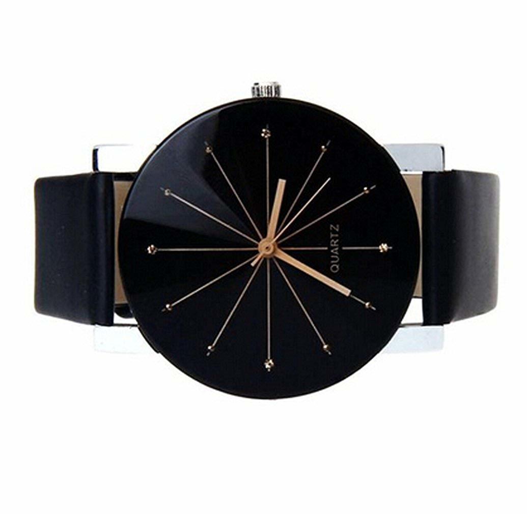 在庫セール●ファション 腕時計 メンズ レザーバンド アナログ ファッション フォーマル_画像3