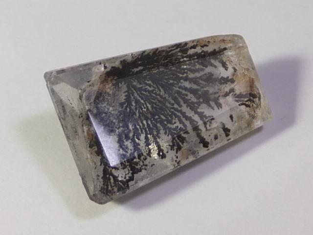【21892】鉱物のふしぎ・天然デントリティッククォーツ12.61ct ソーティングメモ付き_画像4