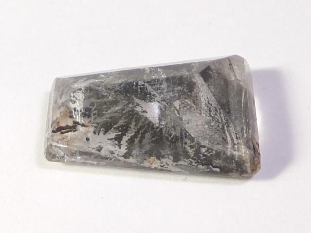 【21892】鉱物のふしぎ・天然デントリティッククォーツ12.61ct ソーティングメモ付き_画像6