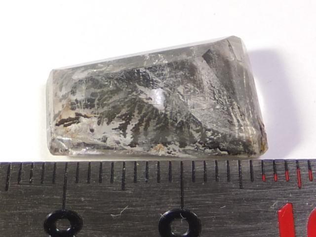 【21892】鉱物のふしぎ・天然デントリティッククォーツ12.61ct ソーティングメモ付き_画像7